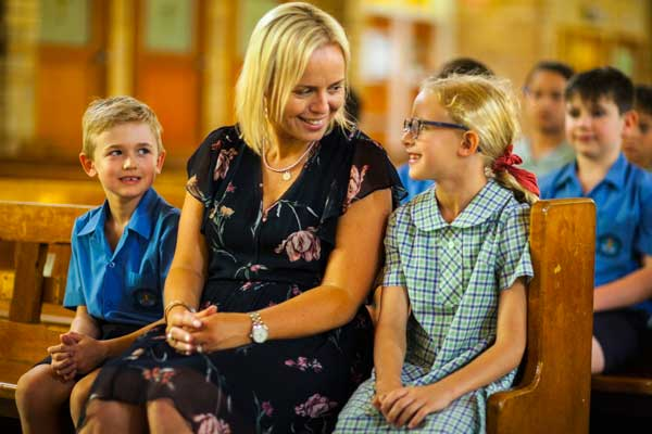 St Michael's Catholic Primary School Meadowbank Family and faith