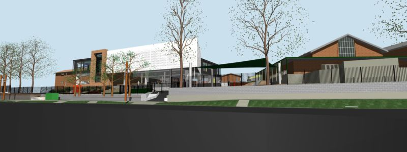 St Michael's Meadowbank Building Project view stage 1
